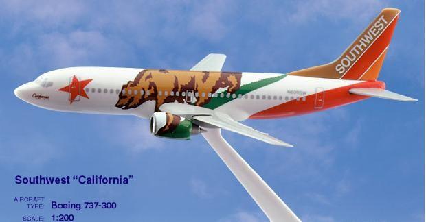 Long Prosper - 1/200 - Boeing 737 300 - Southwest Airlines CALIFORNIA - 2073720