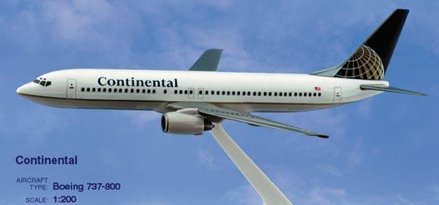 Long Prosper - 1/200 - Boeing 737 800 - Continental Airlines - 2073770