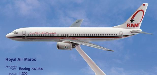 Long Prosper - 1/200 - Boeing 737 800 - Royal Air Maroc - 2073783