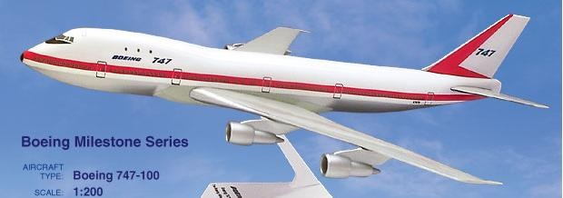 Long Prosper - 1/200 - Boeing 747 100 - House Colour MILESTONE  - 2074704
