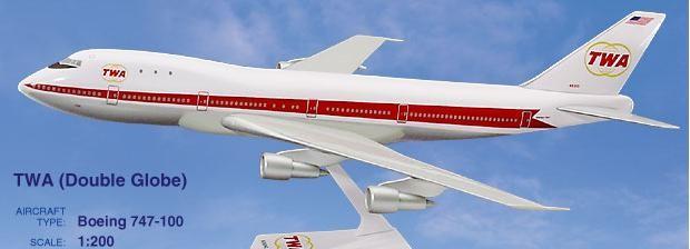 Long Prosper - 1/200 - Boeing 747 100 - TWA Trans World Airlines - 2074709