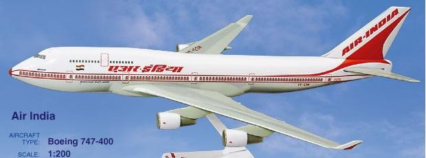 Long Prosper - 1/200 - Boeing 747 400 - Air India - 2074712