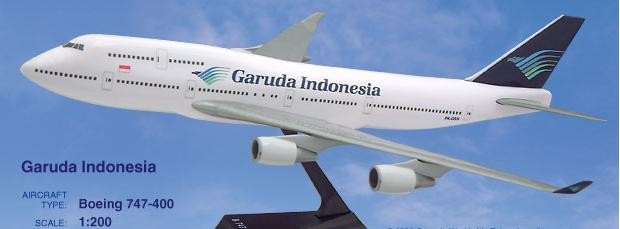 Long Prosper - 1/200 - Boeing 747 400 - Garuda Indonesia - 2074716