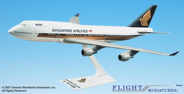 Long Prosper - 1/200 - Boeing 747 400 - Singapore Airlines - 2074724