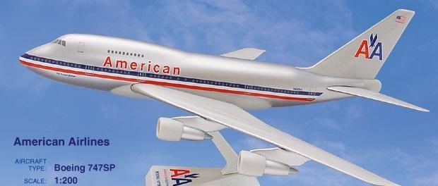Long Prosper - 1/200 - Boeing 747SP - American Airlines - 2074729