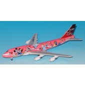 Dragon - 1/400 - Boeing 747 400 - JAL Japan Airlines DREAM EXPRESS SWEET rosa - Tomy - 00003