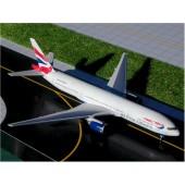 Gemini - 1/400 - Boeing 777 200 - British Airways UNION FLAG - 024