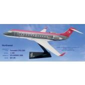 Long Prosper - 1/100 - Canadair RJ 200 - Northwest Airlines  - 10ca209