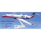 Long Prosper - 1/100 - Canadair RJ 200 - Skywest Airlines 30TH ANNIVERSARY - 10ca210