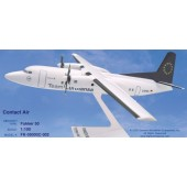 Long Prosper - 1/100 - Fokker 50 - Contact Air Team Lufthansa - 10fo539