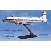 Long Prosper - 1/125 - DC 4 - SAA South African Airways LOBOMBO - 12dc403
