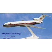 Long Prosper - 1/200 - Boeing 727 200 - TWA Trans World Airlines DOUBLE GLOBE - 2072726
