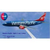 Long Prosper - 1/200 - Boeing 737 300 - Western Pacific Airlines SPLIT - 2073731