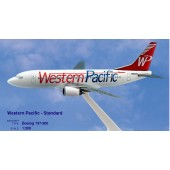 Long Prosper - 1/200 - Boeing 737 300 -  Western Pacific Airlines STANDARD - 2073733