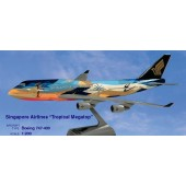 Long Prosper - 1/200 - Boeing 747 400 - Singapore Airlines TROPICAL - 2074725