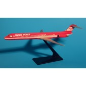 PPC - 1/200 - MD 83 - TWA Trans World Airlines RESERVE RED - 2899