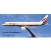 PPC - 1/200 - Boeing 757 200 - TWA Trans World Airlines nc - 2963