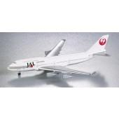 Herpa - 1/500 - Boeing 747 400 - JAL Japan Airlines - 500623