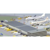 Herpa - 1/500 - Airport 37 - Airport CARGO Center Gebäude - 519847