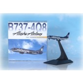 Dragon - 1/400 - Boeing 737 400 - Alaska Airlines BLUE - 55275