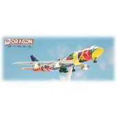 Dragon - 1/400 - Boeing 747 300 - SAA South African Airways NDIZANI - 55400