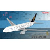 Dragon - 1/400 - Boeing 777 200 - Singapore Airlines STAR ALLIANCE - 55808